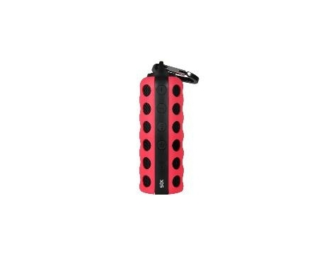 Flasko Bluetooth Speaker, Red
