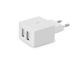 Quantum Duo USB Travel Charger, 3.4A, incl. Lightning-USB cable, MFi