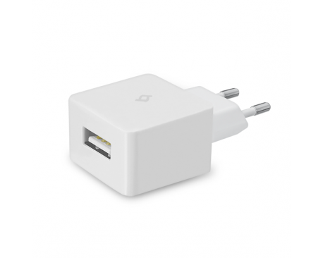 Quantum USB Travel Charger, 1A, incl. Lightning-USB cable, MFi