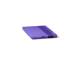 PowerCard Universal Mobile Charger 2.500mAh  Purple