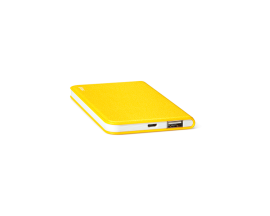 PowerSlim  Universal Mobile Charger 4.000mAh Yellow