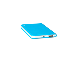 PowerSlim  Universal Mobile Charger 4.000mAh Blue
