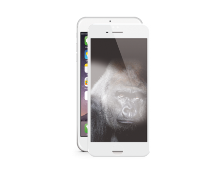 AirGlass EdgeColor Glass Screen Protection iPh. 6s/6-White