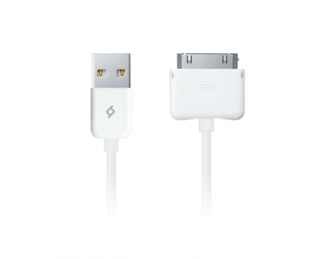 30 pin-USB Charge/Sync Cable, White