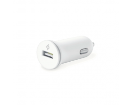Compact USB In-Car Charger, 1A, incl. 30 pin-USB cable