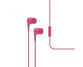 Joy In-Ear Headphones with Microphone, Pink