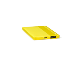 PowerCard Universal Mobile Charger 2.500mAh Yellow