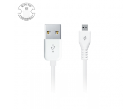 Micro USB Charge/Sync Cable, White