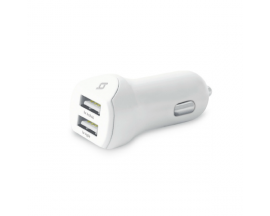SpeedCharger Duo USB In-Car Charger, 3.1A, Universal
